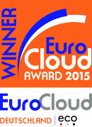 Winner EuroCloud Award 2015