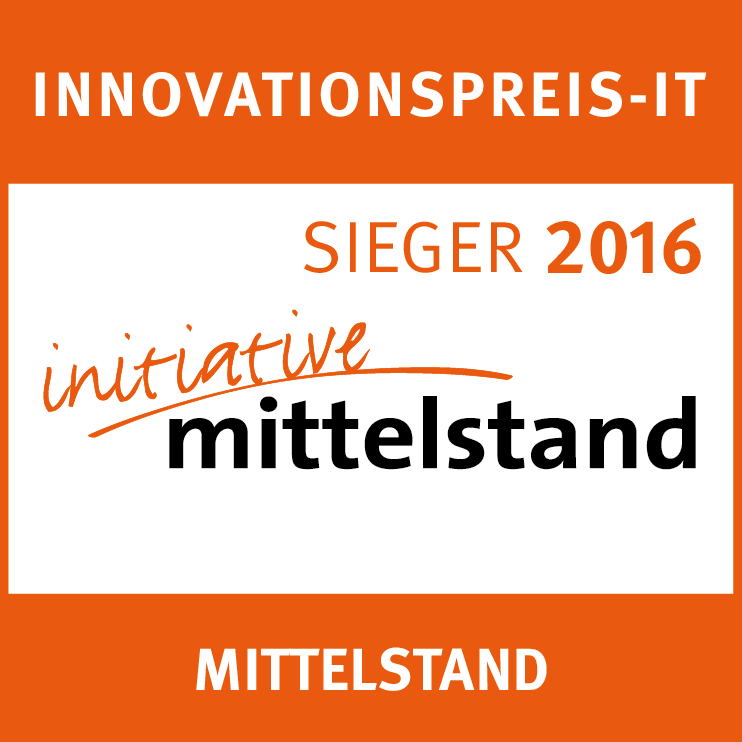 Innovationspreis IT Sieger 2016