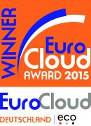 Winner EuroCloud Award 2015