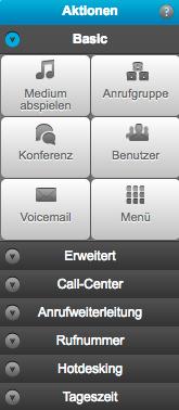 Beispiele für die Anruflogik