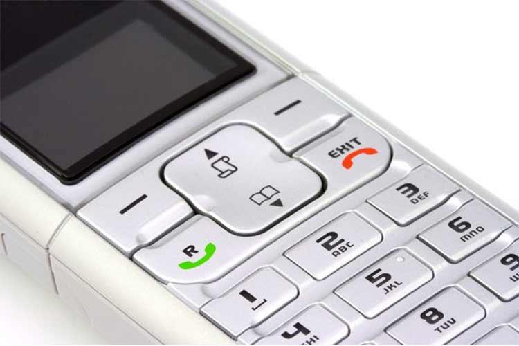 DECT-Telefon Mobilteil Telefonhörer