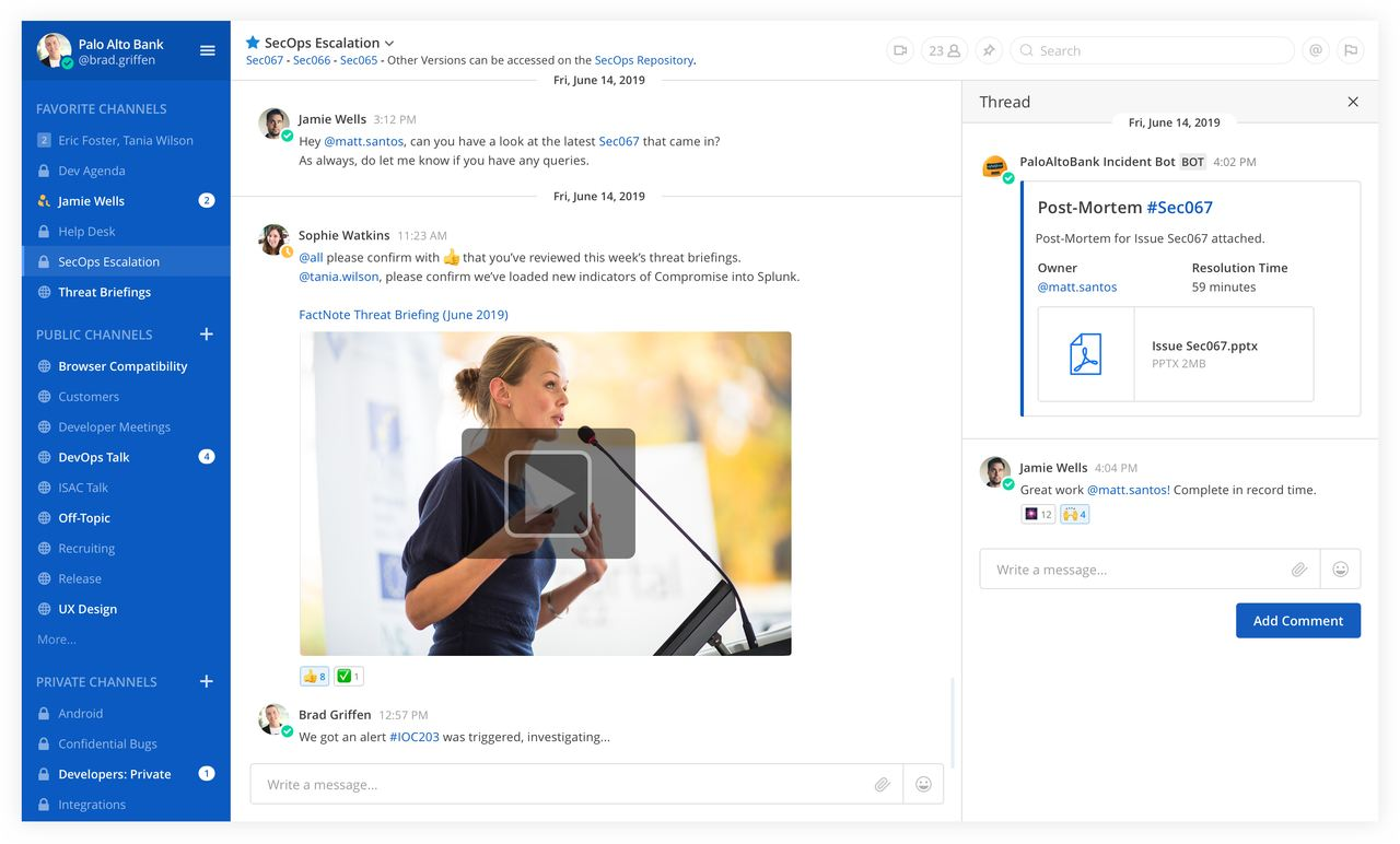Microsoft Teams Alternativen Mattermost