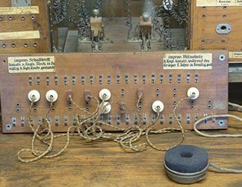 Ein chronologischer Überblick über die Telefonanlage